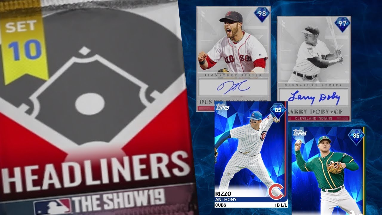 SIGNATURE SERIES DUSTIN PEDROIA & LARRY DOBY - 2 DIAMONDS IN ROSTER UPDATE!! MLB The Show 19