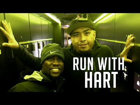 Running with (Kevin) Hart & Juanito the Tallest Mexican