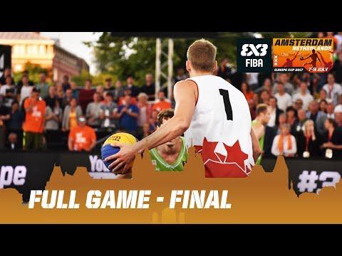 Latvia vs. Slovenia - Final - Full Game - FIBA 3x3 Europe Cup 2017