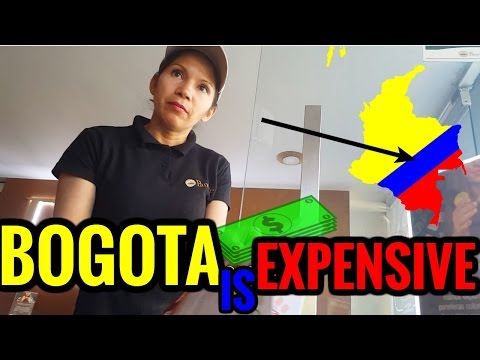 BOGOTA COLOMBIA is EXPENSIVE! [#55]