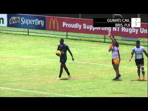 Gumatj Cavaliers v Brisbane Fiji; Hottest 7s 2016; Day One; Field One