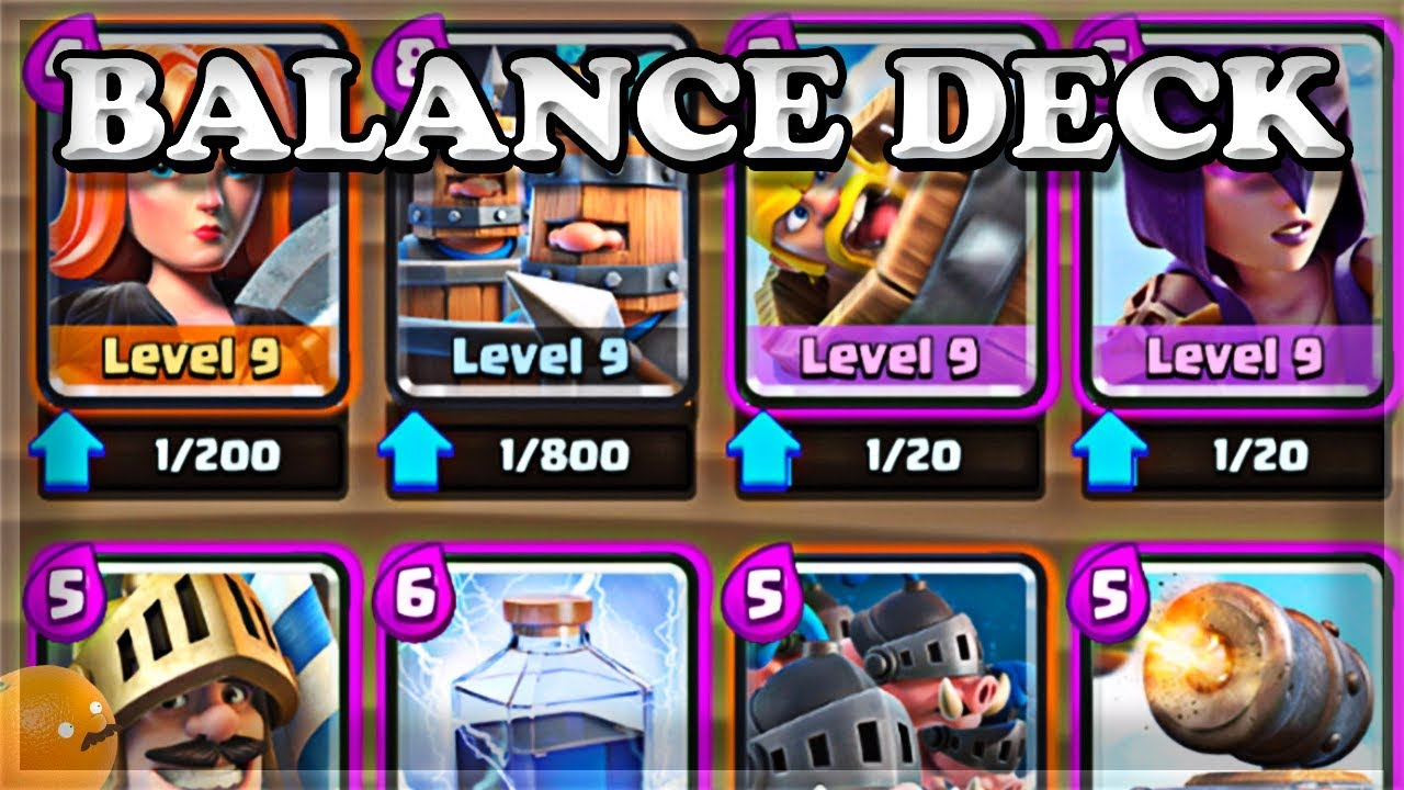 New Balance Deck And September Update Clash Royale Youtube