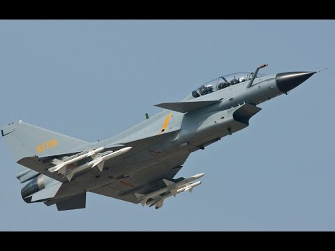 Chinese J-10 Specification, Multirole Fighter Jet - YouTube