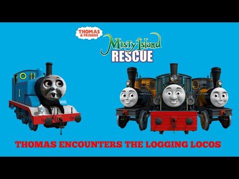 Download Misty Island Rescue (2010) Thomas Encounters Bash, Dash and Ferdinand Scene