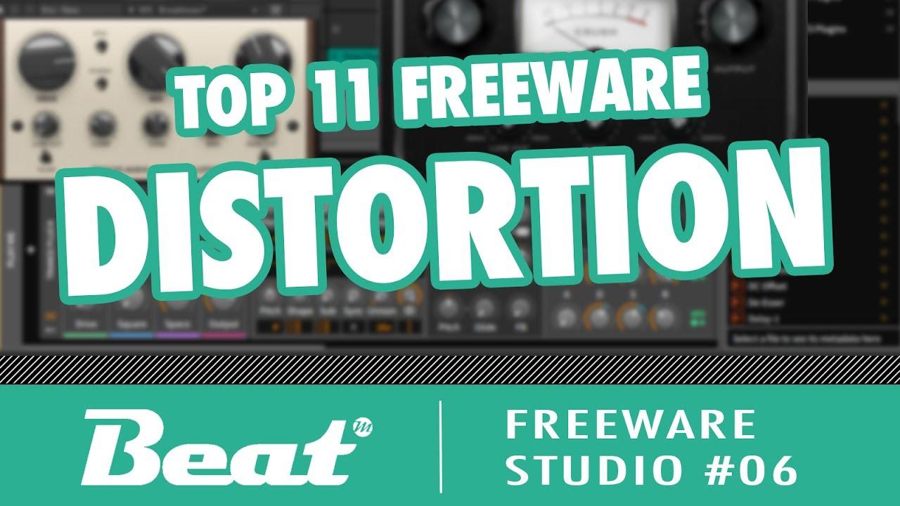 Top 11 Free Plugins VST Distortion, Saturation, Overdrive, Tape etc  |  Freeware Studio #06