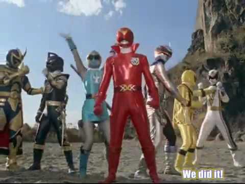 GoGo Sentai Boukenger vs Super Sentai Final part (pt 5)