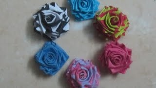 best double colour quilling paper rose