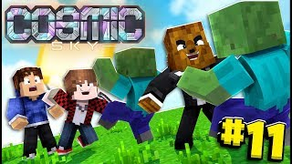 The Admins Prank Me And I Get A Free Parrot - Minecraft Cosmic Sky #11