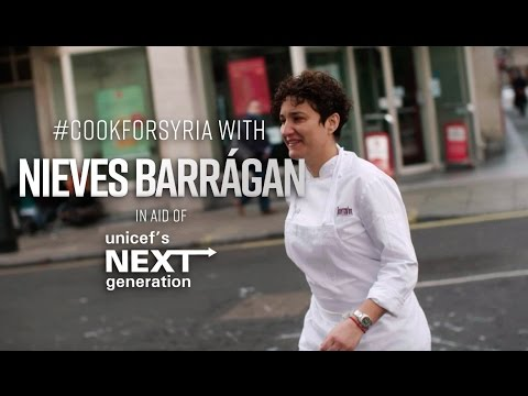 #CookForSyria with Barrafina's Nieves Barragán in aid of Unicef's Next Generation | FOODIEHUB