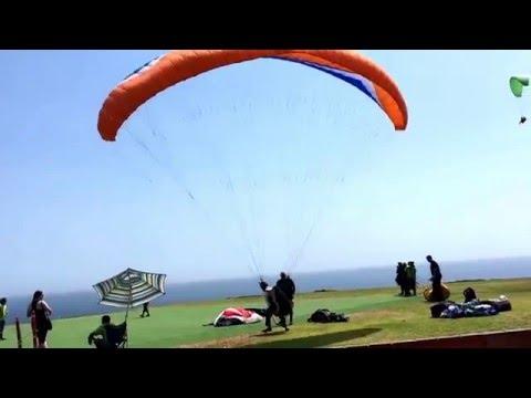 Top landing in Miraflores district, Lima