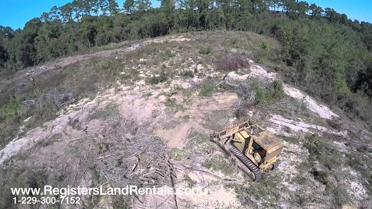 Clearing Land with a D5 Caterpillar