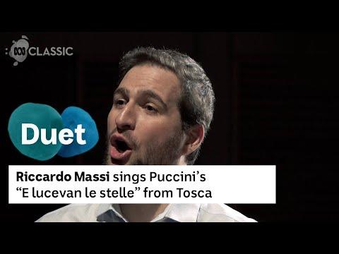 """Giacomo Puccini:  """"E lucevan le stelle"""" from Tosca   Riccardo Massi"""