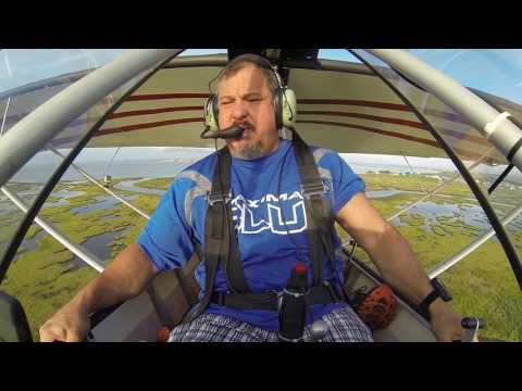 Excalibur Aircraft:  Join a 9 year old for his first pilot lesson