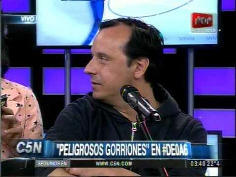 C5N - MUSICA EN VIVO: PELIGROSOS GORRIONES EN #DE0A6