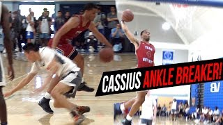 Cassius Stanley Ends AAU Game w/ Ankle Breaker & Bangout! Russell Westbrooks WHY NOT V Coastal Elite