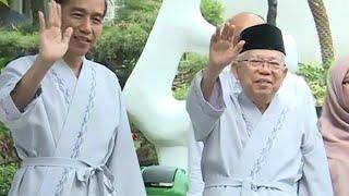 Jokowi-Maruf Amin Menjalani Pemeriksaan Kesehatan