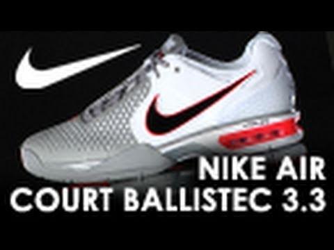 Nike Air Court Ballistec 3.3 Shoe Review. Tennis Warehouse