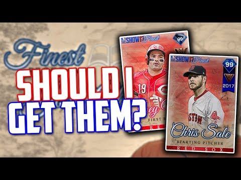 SHOULD I GET 99 Chris Sale and 99 Joey Votto? MLB The Show 17 | Diamond Dynasty
