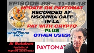 PAY WITH CRYPTO for your coffee with BITCOIN (NOW!) -[Faster Than CASH!] - PayToMat.com 2018