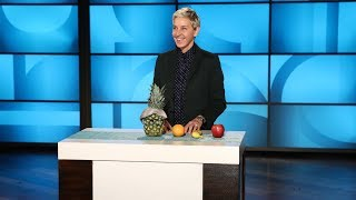 Ellen Explains Facts & Fake News with Fruit