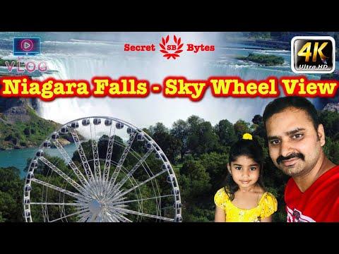 Niagara Falls Sky Wheel View Vlog | Autumn In Niagara Falls Canada | Entertainments In Niagara City