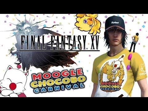 Final Fantasy XV - Le Chocobo Moogle Carnival !