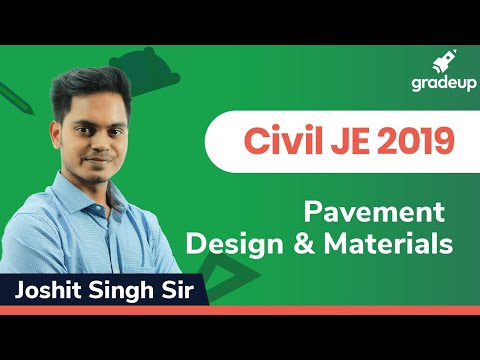 Highway Engg. | RRB/SSC JE Exams 2019 | Pavement Design |