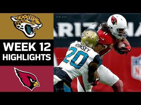 Jaguars vs. Cardinals | NFL Week 12 Game Highlights
