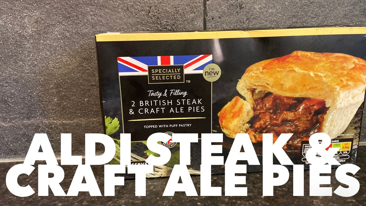Aldi British Steak Craft Ale Pie Review Youtube