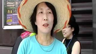奈良市の繁華街への玄関口、行基広場の大屋根建設に対する反対デモが1...