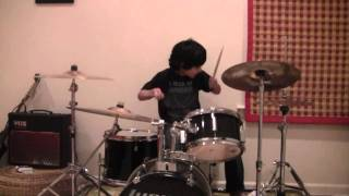 A Song For the Dead Drum Cover - Raghav 7 year old drummer