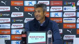 Rueda de prensa de  José Luis Martí tras el Girona FC vs CD Tenerife (1-0)