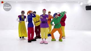 (Mirrored & Slowed 75%) '고민보다 GO (GOGO)' Dance Practice - BTS (방탄소년단)