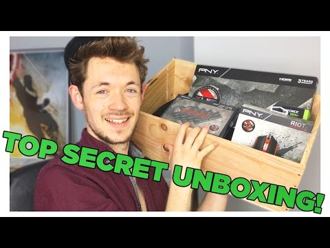 UNBOXING the PNY Hardcore Gaming Experience!    TOP SECRET #XLR8   VLOG