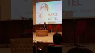 Hafız Ali TEL 06.01.2017 ( Kamer 49-55 / Rahman 1-25 / Nasr 1-3 )