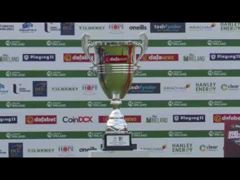 Luke Jongwe speaks in ChiShona in Ireland-Zimbabwe T20I post-match presentation
