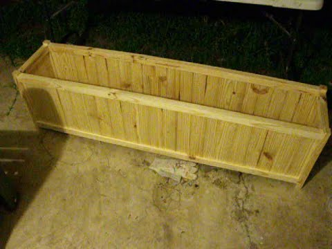 Build Expensive Looking Planter Box For Cheap Youtube