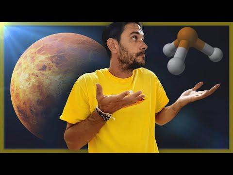 ¿Vida en Venus? ¿Qué es la FOSFINA?