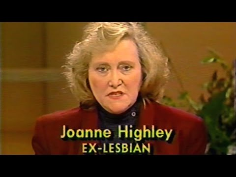 1989 Talk Show: What Makes A Person Gay? (Includes Exorcist Joanne Highley)