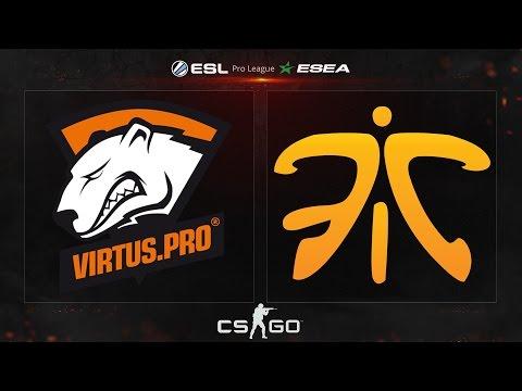 CS:GO - Virtus.Pro vs. Fnatic [Cache] - ESL ESEA Pro League Dubai Invitational - Semifinal Map 3