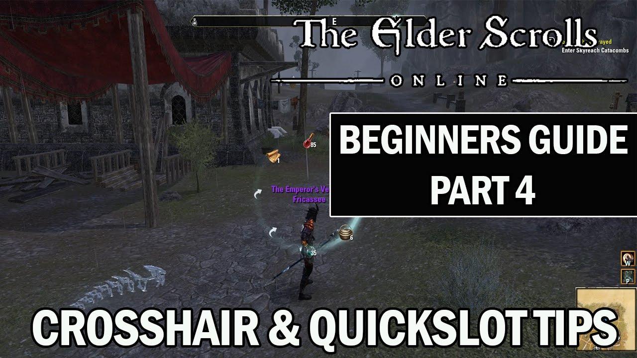 elder scrolls online quickslots
