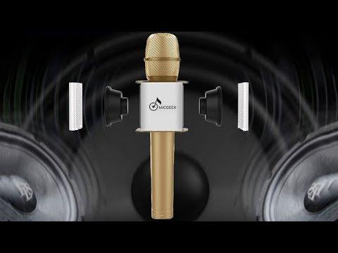 Akıllı Mikrofon İle Karaoke Performansınızı Sergileyin: MicGeek Bluetooth Mikrofon