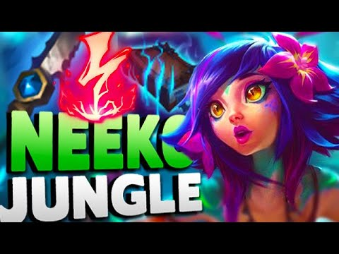 NEEKO JUNGLE IS WAY BETTER THAN YOU THINK! INSTA KILL 3 ENEMIES WITH ONE ULT - League of Legends