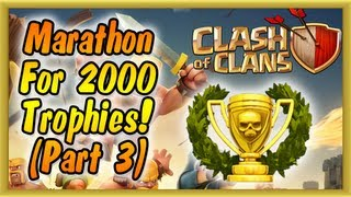 Clash of Clans - Continuing the Push to 2000 Trophies! (Crystal League) (Gameplay Commentary)