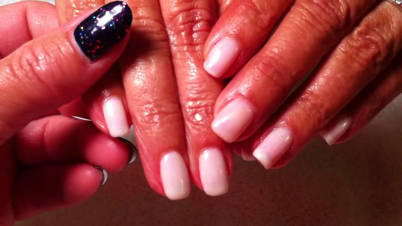 OPI gelcolor Funny Bunny - YouTube
