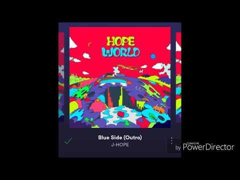 [FULL] (1:1) J-HOPE'S HOPE WORLD MIXTAPE WITH ALBUM COVER!
