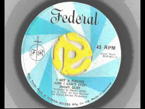 Jimmy Cliff - I Got a Feeling - Federal Records Northern Soul RARE