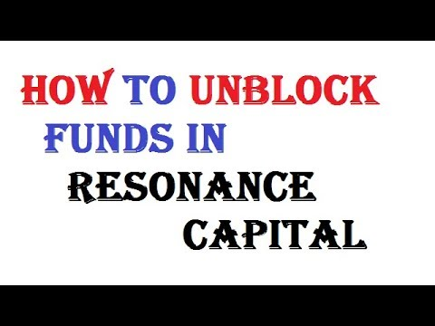 How To Unlock Funds In Resonance Capital ! Resonance - Capital : Best Program For Passive Income