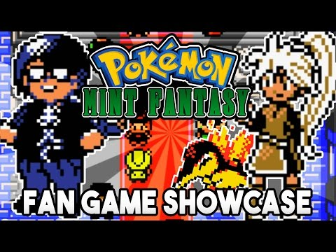 Pokemon Mint Fantasy Fan Game Showcase THIS GAME IS GREAT!