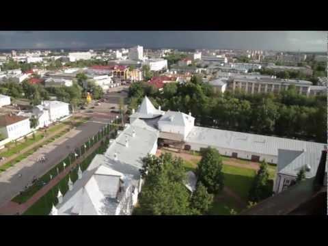 Подъем на колокольню Софийского собора в Вологде